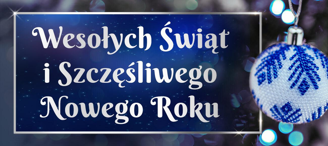 Życzenia z okazji Świąt Bożego Narodzenia oraz Nowego 2021 Roku